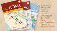 Walking Guide Cards to Paris, London, Amsterdam (Chronicle Books)